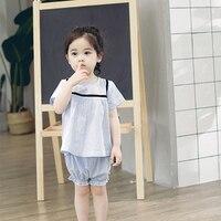 EnkeliBB Korean Design Sweet Girls Summer Sets Baby Girls Loose T Shirt Shorts Toddler Girl Cute