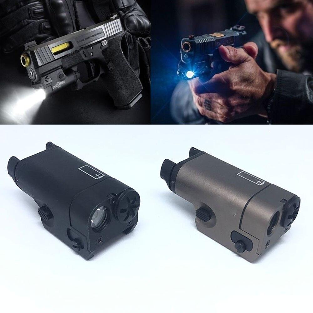 Magorui XC1 lampe de Poche 200 Lumens Arme Légère fit Glock Pistolet Pour La Chasse