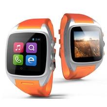 Reloj inteligente X01 Bluetooth4.0 Android GPS 2G/3G Dual Core 512 MB 4 GB ROM Impermeable Podómetro tarjeta de la ayuda SIM cámara