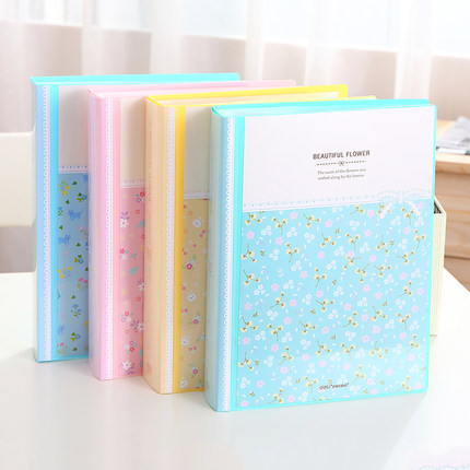 Fresh Flower Paper File Holders A4 Document Holder Paper Folder Storage Binder Pouch Package Office School 30/40/60/80pagesFresh Flower Paper File Holders A4 Document Holder Paper Folder Storage Binder Pouch Package Office School 30/40/60/80pages
