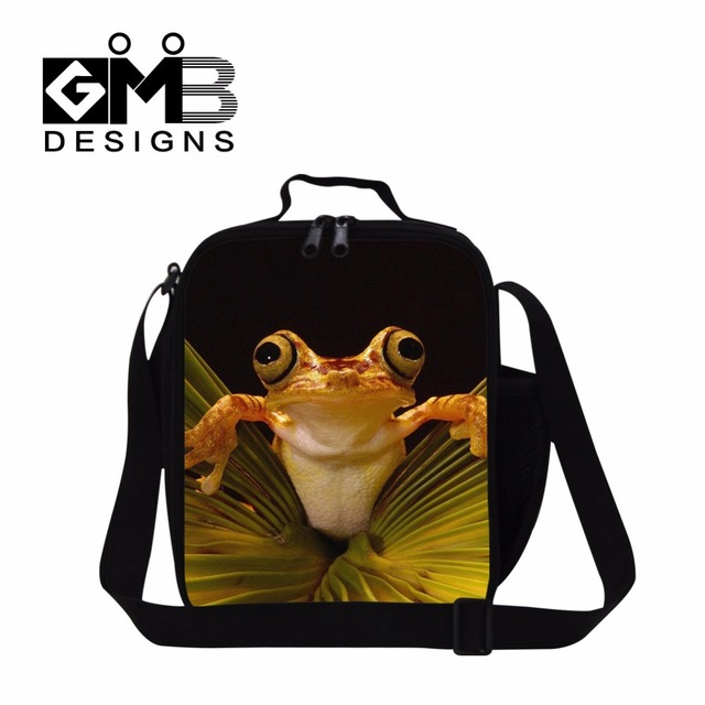 Lunch cooler bags for girls,cute polypedatid lunch box bag,insulated lunch container for women work,new thermal food bag for men