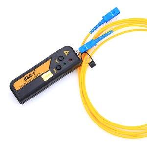 Image 5 - Kelushi 10mw ftth mini tipo localizador visual da falha da fibra óptica ferramenta de teste do verificador da fonte de luz vermelha com conector de 2.5mm (sc/fc/st)