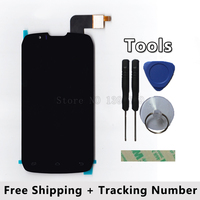 LCD Display Touch Screen Digitizer Glass Panel For DNS S4502 S4502M DNS S4502 Highscreen Boost Cloudfone