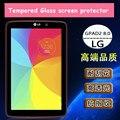 Для LG G Pad II GPad 2 8.0 V498 8 дюймов планшет закаленное стекло протектор защитная пленка