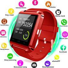 цена на Smartwatch Phone Bluetooth U8 Smart watch Clock Sync Notifier Connectivity For Android Phone Xiaomi Smartwatch Watches as DZ09
