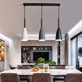 Современный скандинавский дизайн  деревянный белый черный зеленый подвесной светильник  подвесной светильник для гостиной  лофт  декор для...