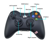 Gamepad For Xbox 360 Wireless Controller For XBOX 360 Controle Wireless Joystick For XBOX360 Game Controller Gamepad Joypad 5
