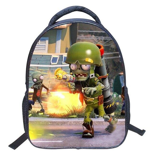 Горячая! 1-3 лет прохладный Растения против Зомби школьный Детский Сад Мешок детей школьного сумки для маленьких детей девушки парни рюкзак