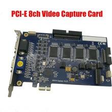 V800E V8.5 DVR card PCI E card Support Wndows 7 32&64 bit V800E 32 channels system cctv security dvr card