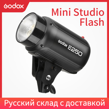Đèn Flash Godox E250 Pro Studio Chụp Ảnh Nhấp Nháy Hình Đèn LED 250 W Phòng Thu Flashgun
