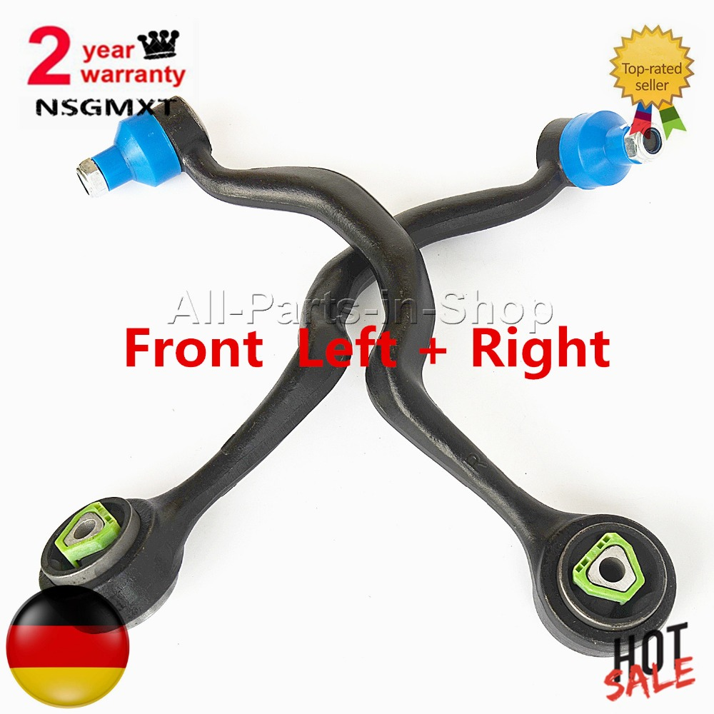 AP01 31121132159 31121132160 / 31121141097, 31121141098 1 X Pair New Front Upper Left + Right Control Arm For BMW 5 Series E34