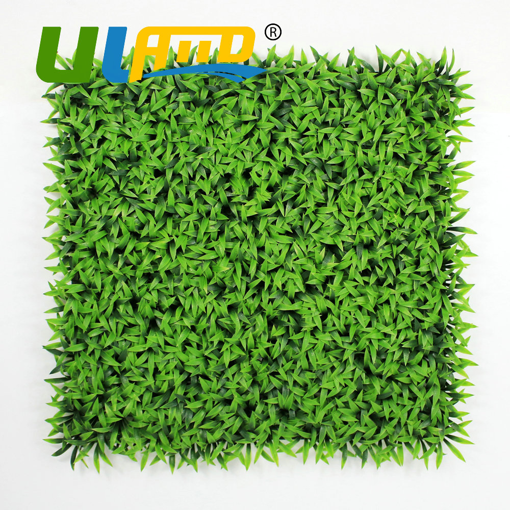 Uland artificial synthetic grass mat outdoor garden for Artificial grass decoration