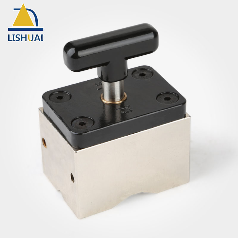 LISHUAI Switchable Magnetic Base Magnetic Welding Mounts Strong NdFeb Magnets for Welding Woodworking Tools MWC2