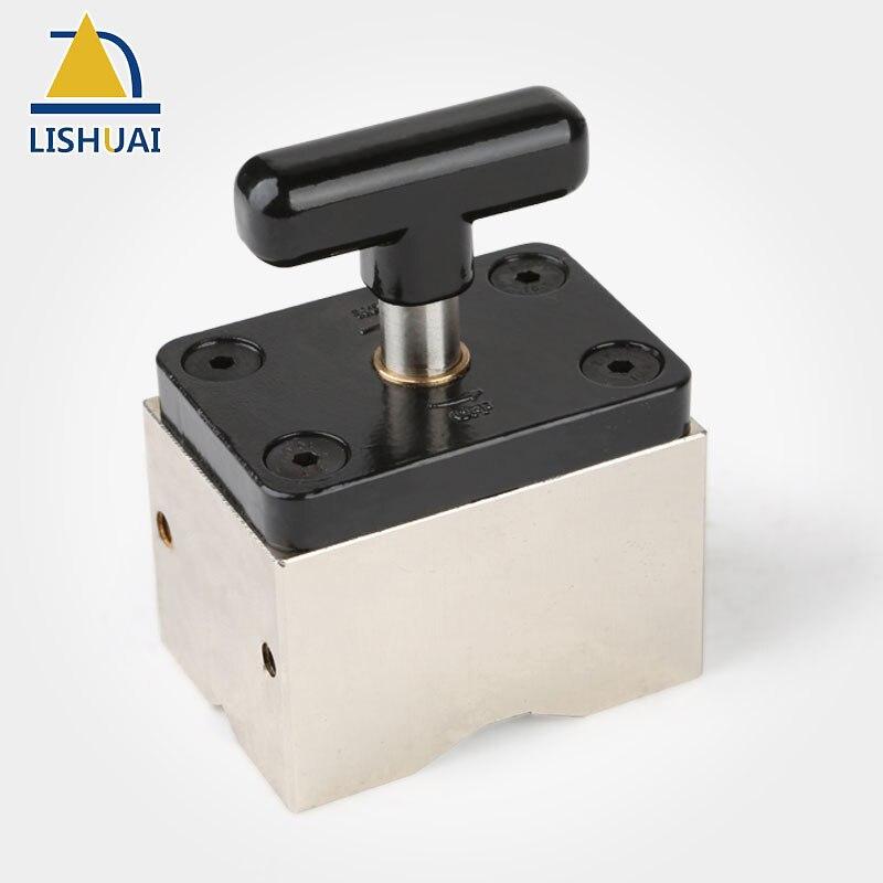 LISHUAI Commutabile Base Magnetica/Magnetico Saldatura Monti/Forti Magneti Al Neodimio per la Saldatura/Strumenti di Lavorazione Del Legno MWC2