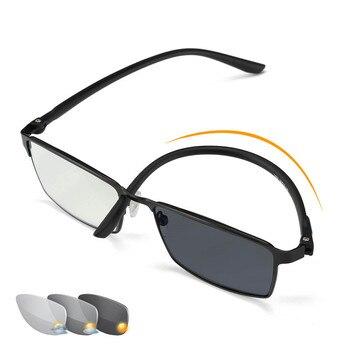 628f8565f0 Gafas de lectura bifocales QIFENG hombres Diopter presbiopic hombre gafas  de prescripción + 1,0 + 1,5 + 2,0 + 2,5 + + 3,0 + 3,5 + 4,00 QF242