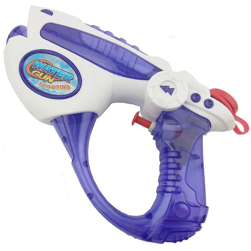 Gorący basen i zabawa wodna pistolety na wodę miotacze i zmywacze zabawki na plażę dla dzieci wysokiej na wodę o dużej pojemności pistolet może strzelaj śmieszne prezent/obecne