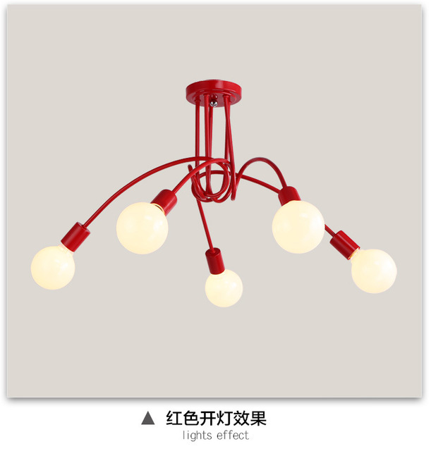 Modern Kids Pendant Lights For Bedroom Living Room Indoor Home Lighting Decoration 3 5