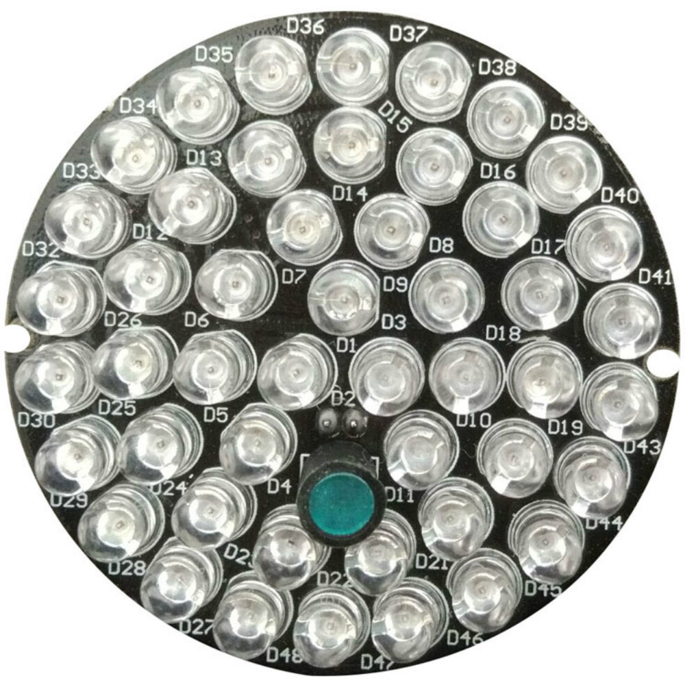 48 IR LED CCTV Infrared Light Board 850nm For Infrared Illuminator CCTV Fill Light Board