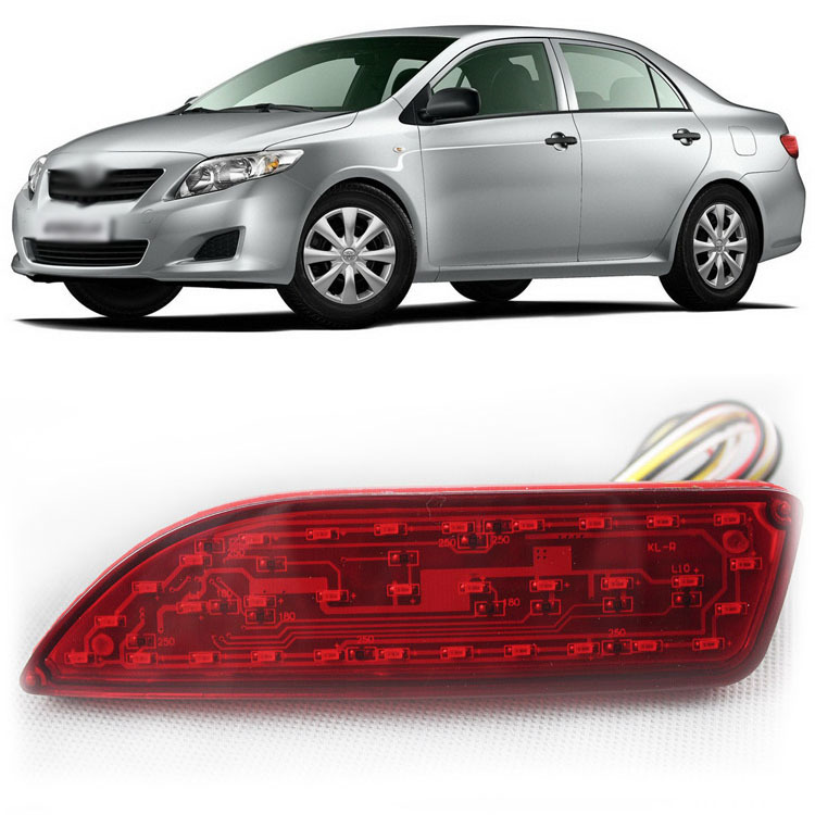 Ownsun новая технология Multi-LED рефлектор задний фонарь бампер для Тойота Королла