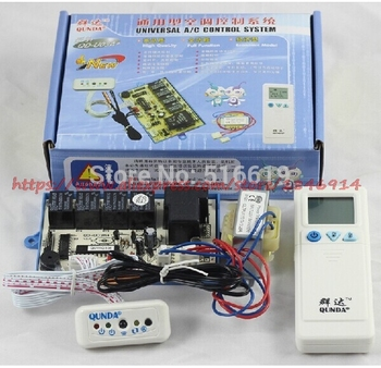 цены QD-U03A+ Hanging air conditioner general computer board / double probe / heating / air conditioning control board