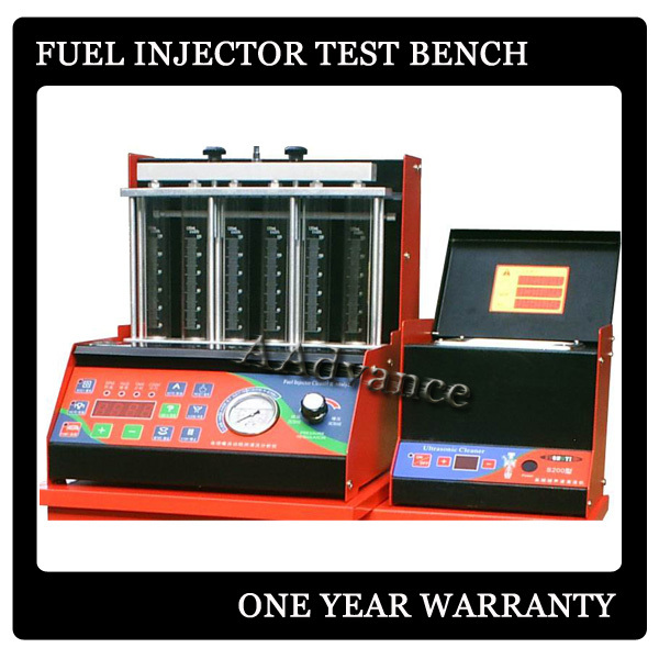 Gas Fuel Injector Testing Machine Injector Flow Bench