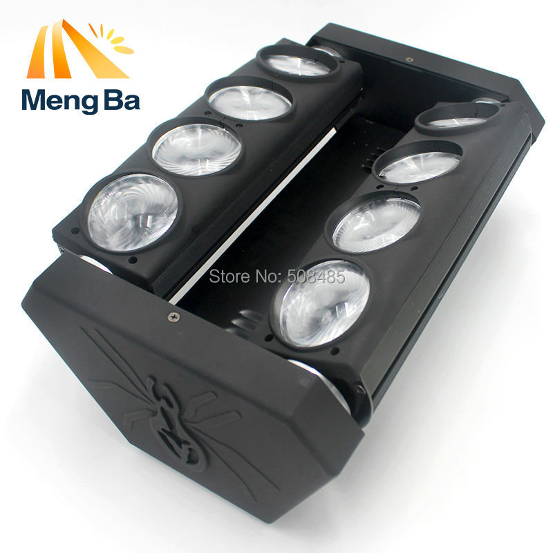 Free Shipping RGBW 4in1 Led Spider Beam Light Led 8x10w Bar Beam Moving Head Beam Led