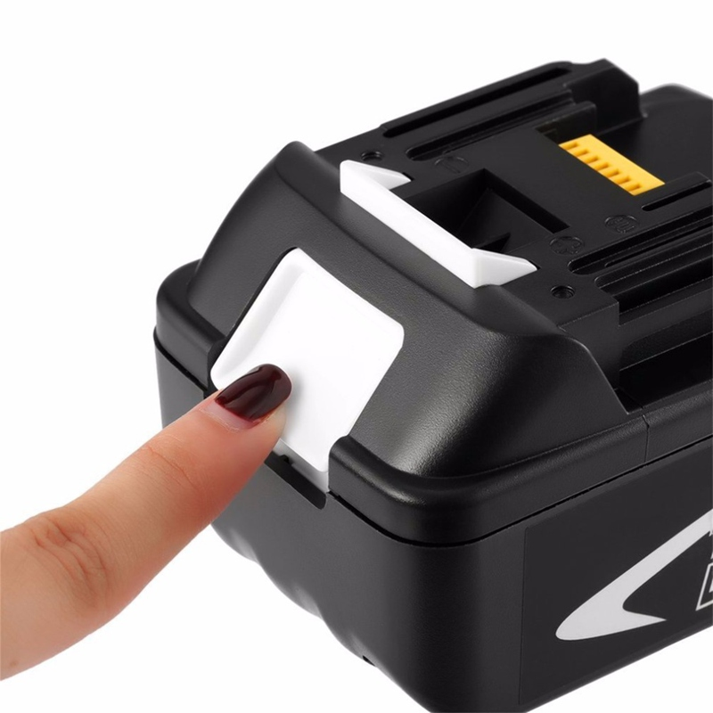 18 v 6000 mah Power Tool Batterie pour Makita BL1850 BL1860 Batterie De Remplacement 18 v 6.0Ah Rechargeable Li-ion Batterie - 4