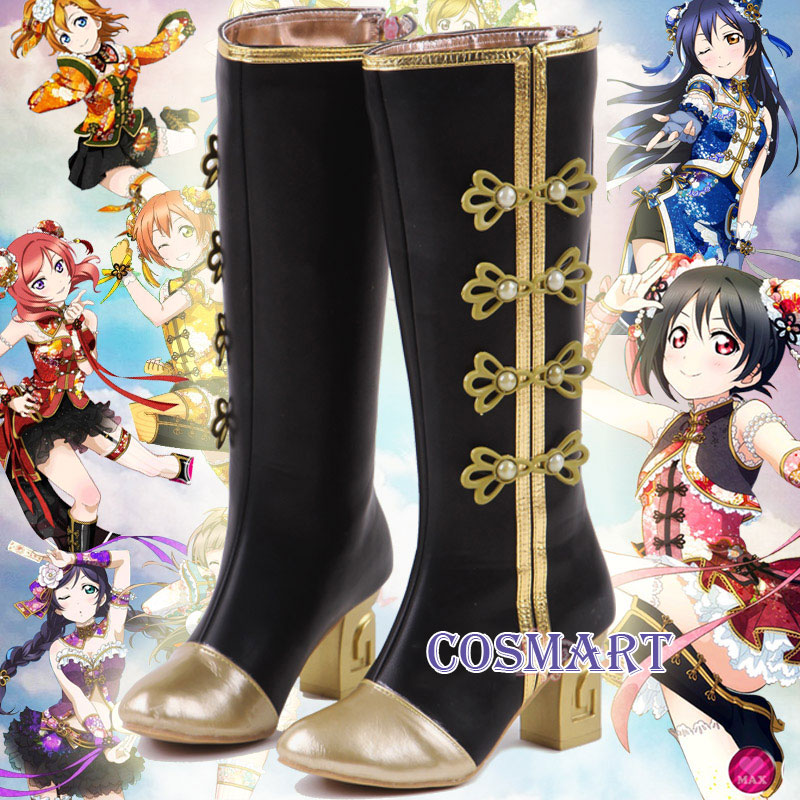 [Customize]LOVE LIVE!Qipao Awaken Boots cosplay Shoes Any sizes