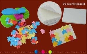 Image 4 - Puzzle maker ręcznie zabawki, aby puzzle przez siebie, craft dziurkacz/diy narzędzia handy. Puncher. Puzzle