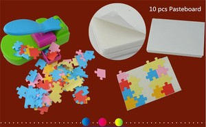 Image 4 - puzzle maker handcrafted toys, make the puzzles by yourself, craft punch / diy tools handy . puncher .puzzle