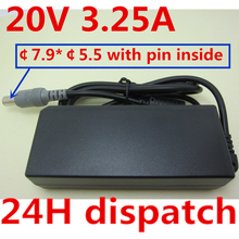 HSW 20V 3.25A 7.9*5.5 Power AC Adapter Supply charger For IBM Lenovo Thinkpad X60 X61 Z60 Z61 X200 X300 T60 T61 T400 003 все цены
