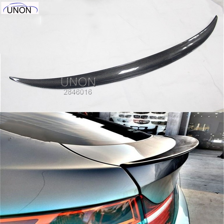 Carbon Fiber X6 Rear Trunk Roof Spoiler Wing Lip Fit for BMW E71 X6 2008-14