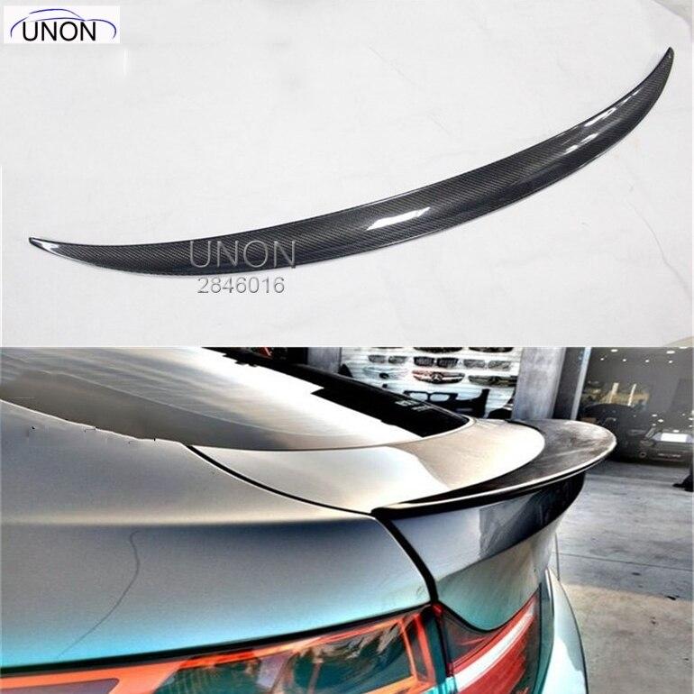 X6 E71 aile de Spoiler de lèvre de coffre arrière de voiture de Fiber de carbone pour BMW 2008-2013