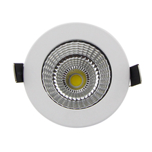 [DBF] Super Bright Dimmable Recessed LED Downlight COB 5W 7W 9W 12W 15W 18W dimming LED Spot light led Ceiling lamp AC 110V 220V