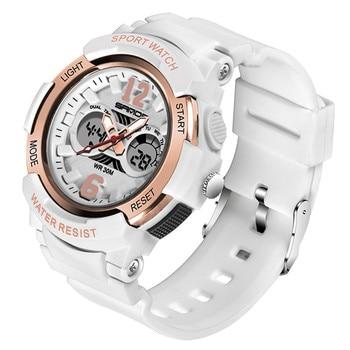 579c1811ed6e Losida regalo de Navidad para niños relojes deportivos multifunción de moda  niños alarma reloj Digital LED con correa de silicona