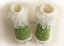 2015 new model Handmade, Super Soft Baby boots – Loop stitch – No sewing Baby Booties crochet baby booties (0-12) M toddler