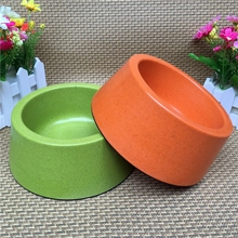 Environmental Bamboo fiber pet bowl dog cat