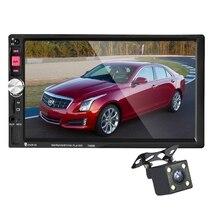 7080B 2 DIN в тире Авто MP5 видео плеер с заднего вида Камера Дистанционное управление 7 дюймов Сенсорный экран Поддержка USB /TF/AUX