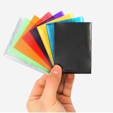 50 шт Матовый Scrub разноцветная карт задняя крышка чехол для карт для настольные игры Магия Сбор Yugioh Покемон карты рукава для TCG