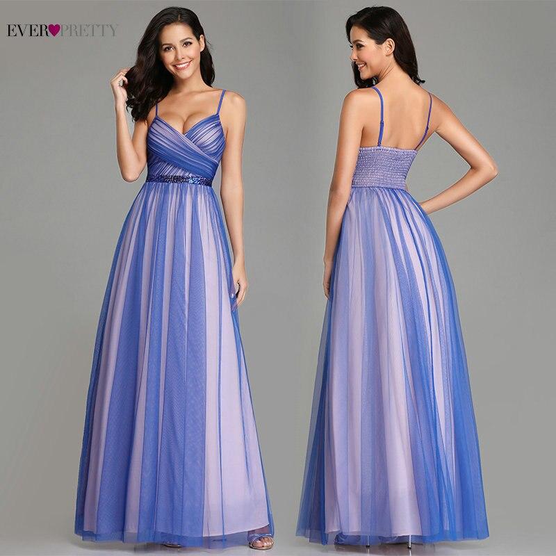 Элегантные вечерние платья с v-образным вырезом, длинные, а-силуэт, прозрачная кисея, тюль, контрастный цвет, темно-синий, вечерние платья, же...