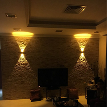 2W Led Wall Light Black Body Fixture Up And Down Sconce Wall Lamp Bedroom Bathroom Hallway