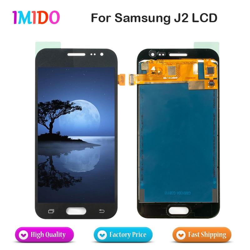 20PCS LOT Wholesale LCD Display For Samsung Galaxy J2 J200 J200F J200H LCD Display Touch Screen