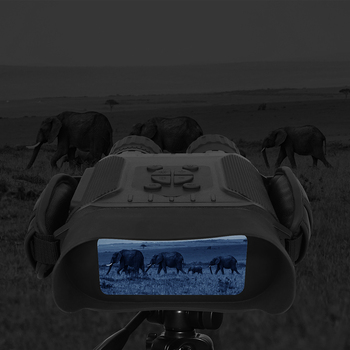 Professional Night Vision 32G IPX4 400m HD IR Camera Photo Video 5x Zoom set time Widescreen Monocular Binoculars for hunting 3