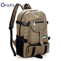 2017 New Fashion Men's Canvas Backpack Casual Travel Backpack Teenagers Men Women Laptop Backpacks College Student School bag