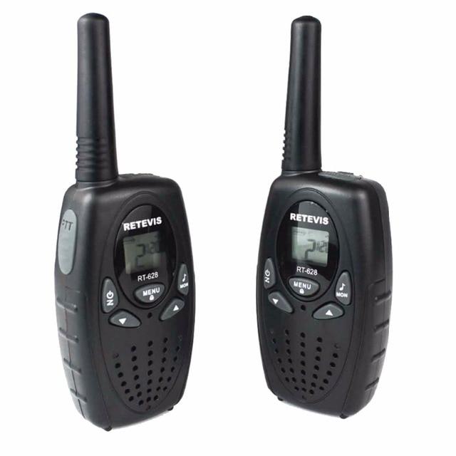 2pcs Retevis RT628 Kids Walkie Talkie Mini Radio 22CH 0.5W UHF 462-467MHz Children cb Portable Toy Radio Communicator A1026A