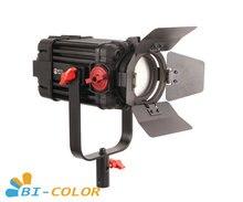 1 قطعة CAME TV بولتزن 100 واط فريسنل فوكوسابل LED ثنائي اللون F 100S Led الفيديو الضوئي