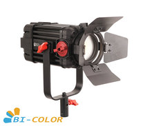 1 Pc CAME TV Boltzen 100w Fresnel focalisable LED bi couleur F 100S Led lumière vidéo