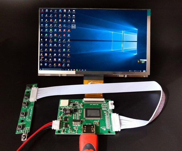 7 дюймов 1024*600 HDMI экран ЖК-дисплей с драйвером плата монитор для Raspberry Pi банан/оранжевый Pi мини компьютер
