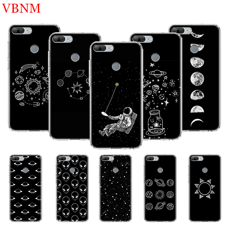 Abstract Outer Space Silicone TPU Case For Huawei Honor 6X 7 8 7X 8X 8A 8S Pro MAX 9 10 Lite V9 Play V20 8C Art Customize Cases