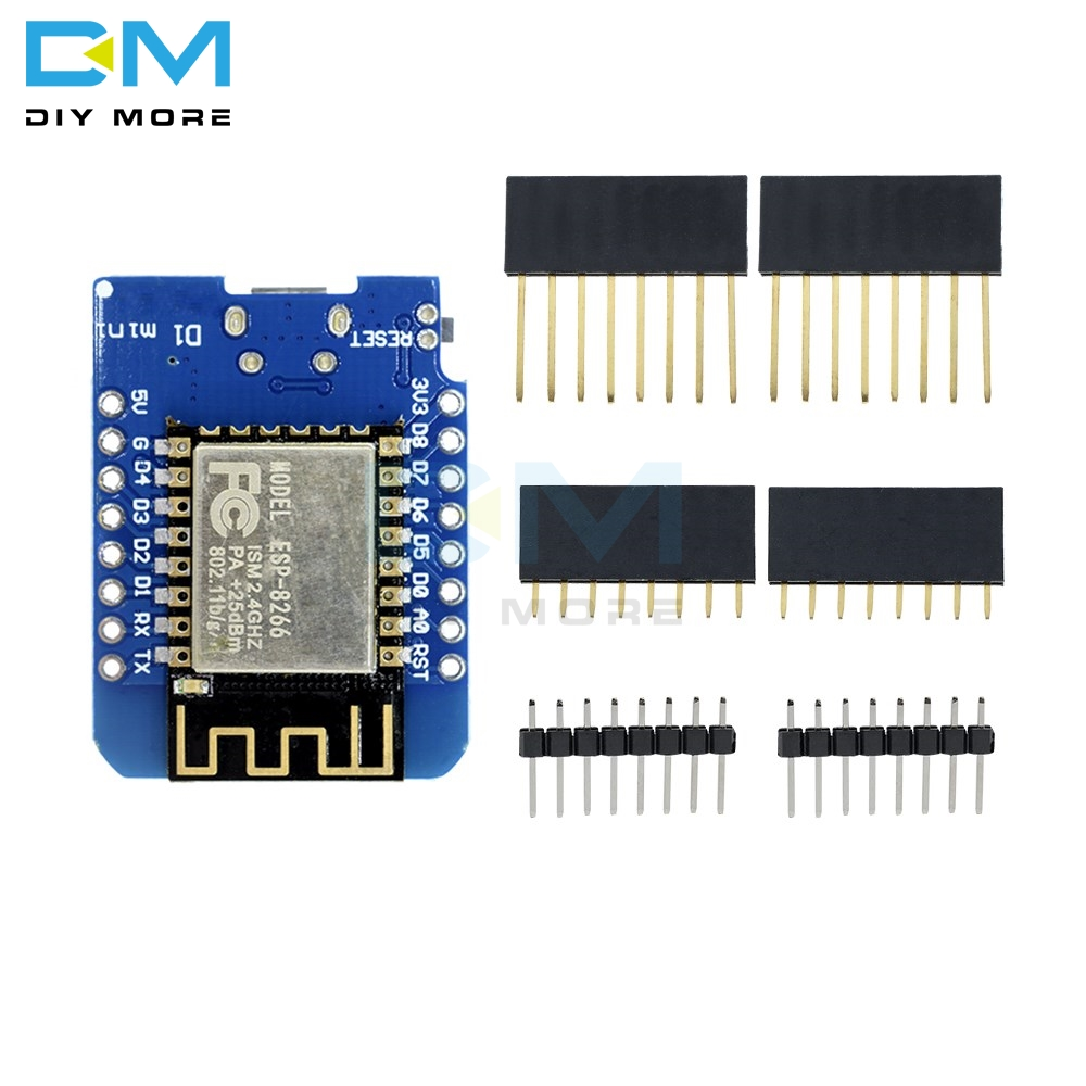 ESP8266 ESP-12 ESP-12F CH340G CH340 V2 V2.0 Micro USB WeMos D1 Mini WIFI Development Board D1 Mini NodeMCU IOT Board 3.3V